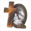 3846300: Joshua 24:15-Religious Western Cross Photo Frame