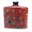 3865600: Bold Geometrics Abstract Tribal Vase