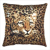 3876900: Ghost Leopard Accent Pillow