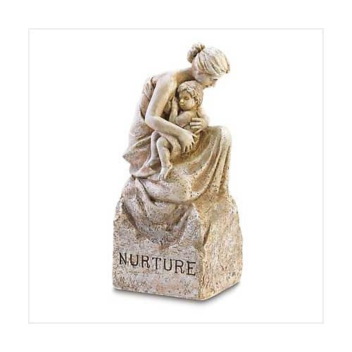 3847500: Mother and Child Nurture Statue
