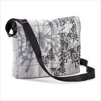 3849800: Quilted Butterfly Messenger Bag-Great for School/College/Travel