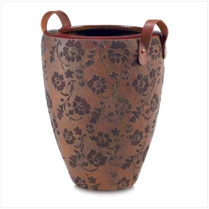 3861800: Nostalgic Handled Peony Planter Vase