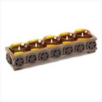 3845000: Western Stars Tealight Holder
