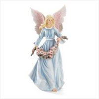 "3714800: Stunning Angel Sculpture - 18"" High  Religious Decor"