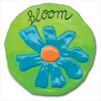 """3776600: """"Bloom"""" Garden Stepping Stone - Limited Supply"""
