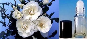 SPECIAL: SHPG INCLD 1 Dram Roll-on Bottle of Country Garden Rose Fragrance Oil
