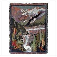Soaring Eagle Tapestry Throw Blanket-oos?