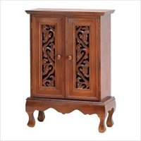 3908800: SALE: Ivy Vine Double Door Wood Chest/Cabinet: Low Shipping Charges