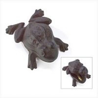 3905500: Old World Cast Iron Frog Key Hider