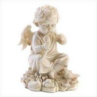 3953100:  Littlest Angel Plump-cheeked Cherub Figurine