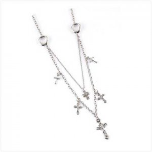 3951700 Crucifix Cross Charm Necklace