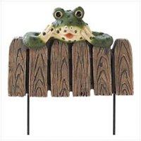 3970300: Frog Mini Garden Fence