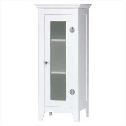 3501200: Wood Cabinet With Glass Door: Low Shipping Charges