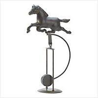 3903200: Horse Weathervane Statue