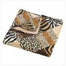 3972100 Jungle Print Quilt/Comforter Queen Size