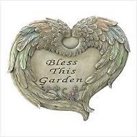 3907100: Garden Blessings Plaque Religious Decor