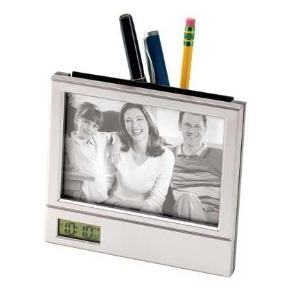 1206200: Desktop Pen Holder Photo Frame - Office Decor