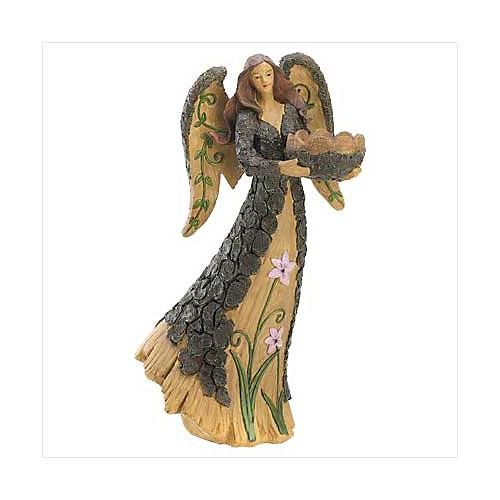 3958100: Woodland Angel Statue