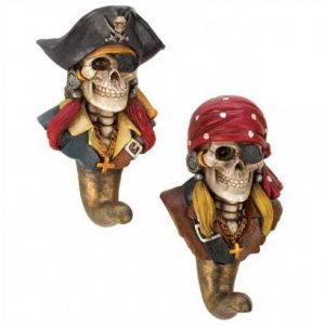 1290600: Ghostly Pirate Wall Hooks