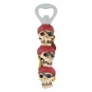 1290600: Ghostly Pirate Skull Bottle Opener