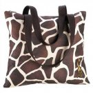 1292900: Giraffe Shoulder Tote - Multiple Uses