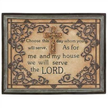 1304400: Inspirational Prayer Plaque - Religious Decor