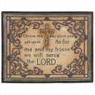 1304400: Inspirational Prayer Plaque - Religious Decor