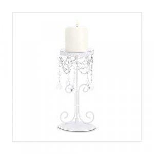 3865300: Elegant Beaded Candleholder