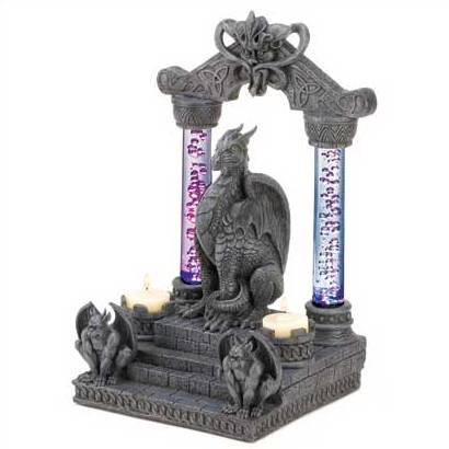 3992900: Dragon Temple Candle Holder