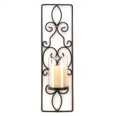 1269200: Flameless Candle Wall Sconce