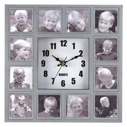 Photo Collage Wall Clock