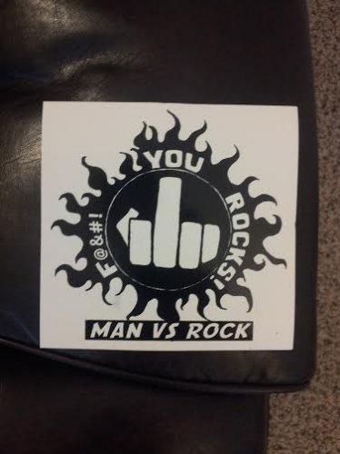 F*#k You Rocks Sticker