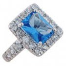 women cubic zirconia ring