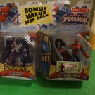 "Ultimate Spider-Man & Venom Pair 3.75"" Carded"