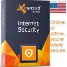 AVAST INTERNET SECURITY 2017 3 PC 3 YEAR ECARD ELICENSE