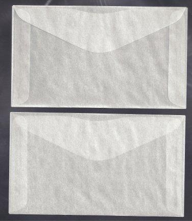 100 #5 Glassine envelopes ( 3 1/2 x 6 inches )