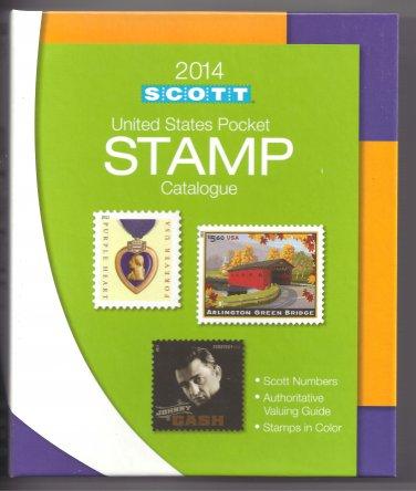 Scott 2014 US Stamp Pocket Catalogue