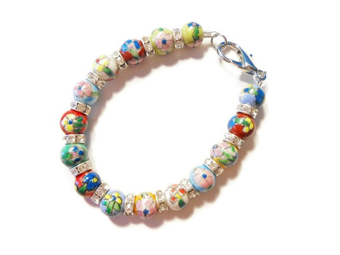 Hand Made Carnicale Women's Beaded Bracelet