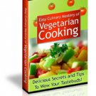Vegetarian Cooking Reference Guide Ebook