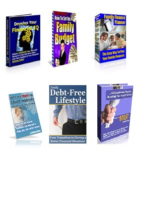 Credit Budget Finance Ebook Package