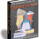 Essential Guide To Organizing Your Home