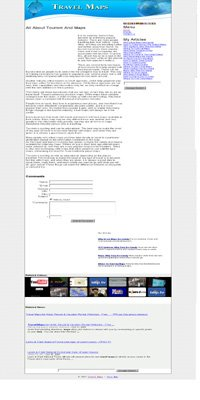 Travel Maps Adsense Integrated Website