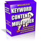 Keyword Content Multiplier