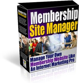 Membership Site Manager
