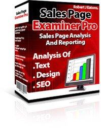 Sales Page Examiner