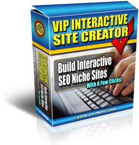 VIP Interactive Site Creator