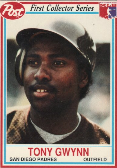 Tony Gwynn 1990 Post