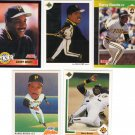 5 Barry Bonds Pirates Cards