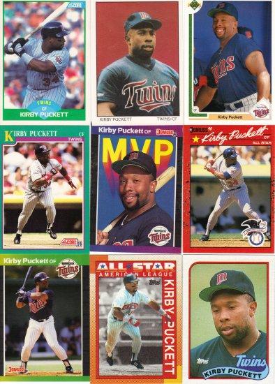 (15) Kirby Puckett Cards