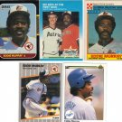 (5) Rare Eddie Murray Cards
